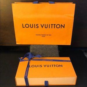 Louis Vuitton Shopping Bag & Case